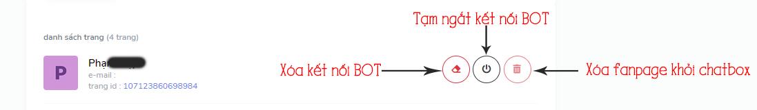 cách kết nối fanpage chatboxvn