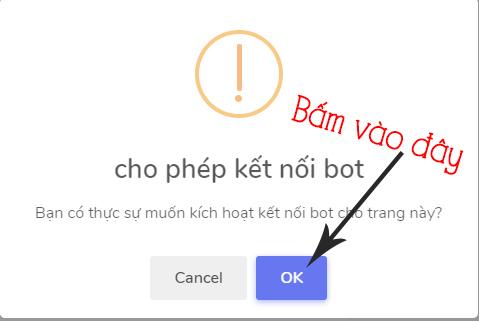 cách kết nối fanpage với chatboxvn